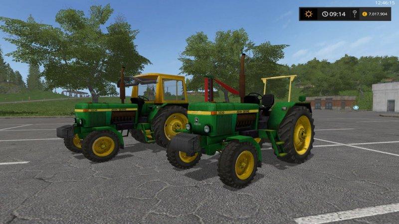 Мод ПАК трактора John Deere 1030 v1.0 Farming Simulator 17