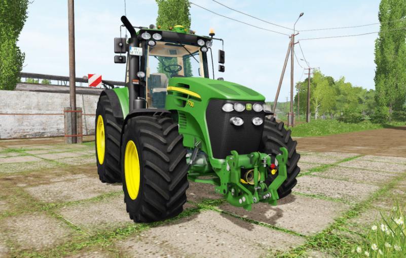 Мод трактор JOHN DEERE 7730 V1.0 Farming Simulator 2017