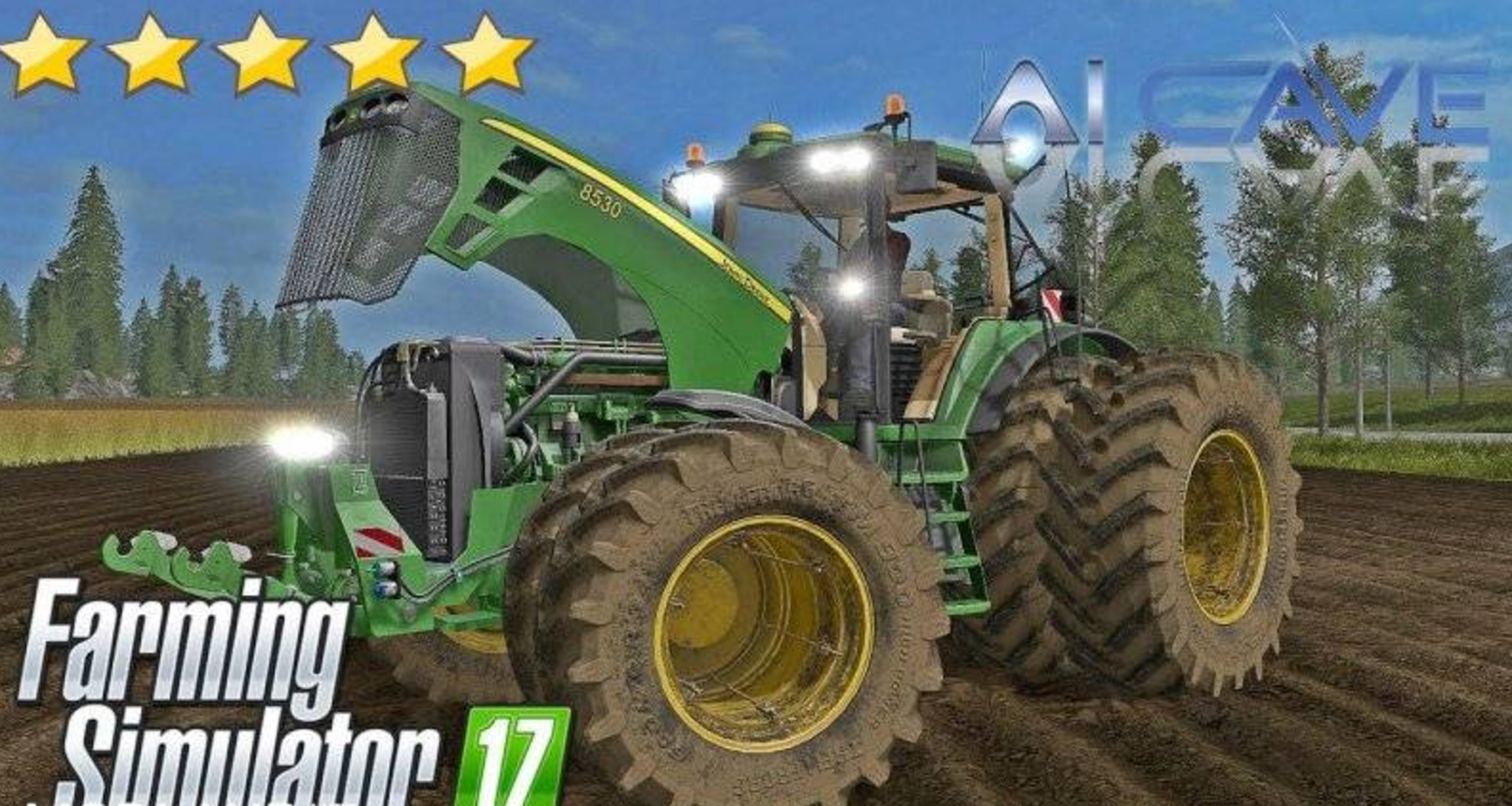 Мод трактор John Deere 8530 v 4.0 FS17