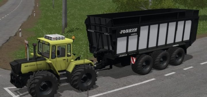 Мод прицеп JOSKIN DRAKKAR 8600 BLACK V1.4 FS17