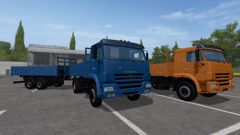 Мод грузовик КамАЗ 45253 v1.1 Фермер Симулятор 2017