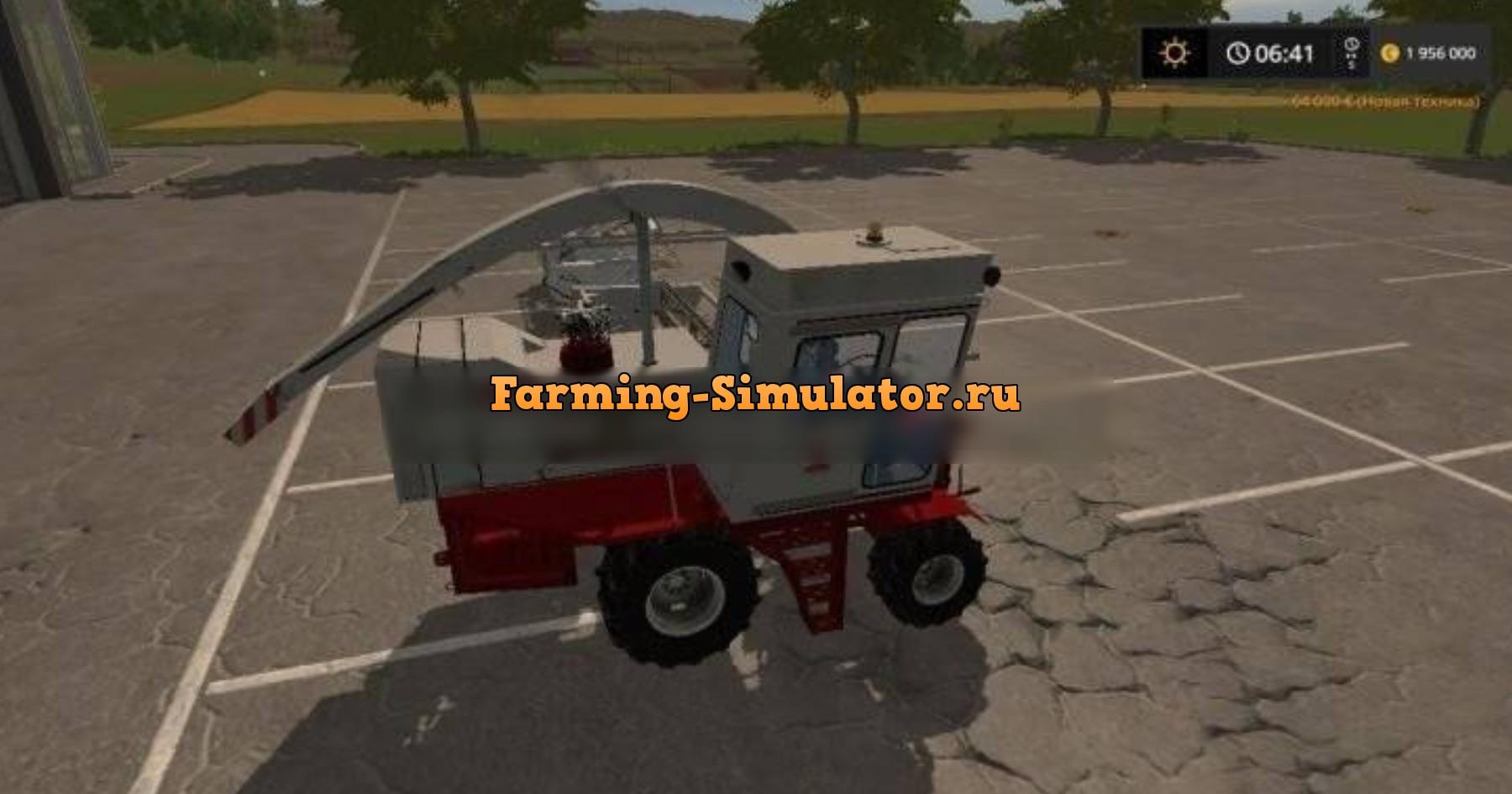Мод комбайн КСК 100 v1.0 Фермер Симулятор 2017