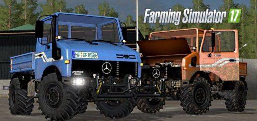 Мод ПАК MB UNIMOG 1200 / 1600 FULL PACK Farming Simulator 2017