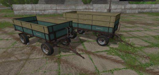 Мод ПАК прицепы MENGELE DR57 V1.0 Farming Simulator 2017