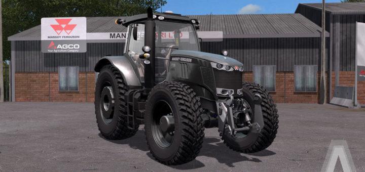 Мод трактор MASSEY FERGUSON 7700 SERIES V3.0 FS17