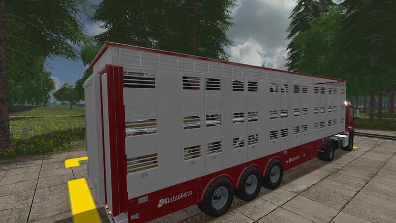 Мод прицеп Michieletto AM19 v1.0.2.0 Farming Simulator 17