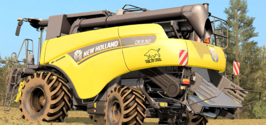 Мод комбайн NEW HOLLAND CR9.90 V1.1 FS17