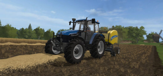 Мод трактор NEW HOLLAND TS115 V1.0.0.0 Farming Simulator 17