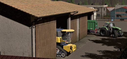 Мод ПАК OLD SHED V1.0.0.1 Farming Simulator 2017