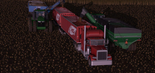 Мод ПАК прицепы OMBU BI-TRAIN V1.0 Farming Simulator 17