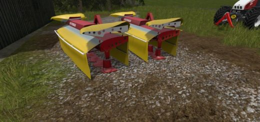 Мод сенокосилка POTTINGER NOVA ALPIN 301 AND FASTCOUPLER V2.5 Farming Simulator 17