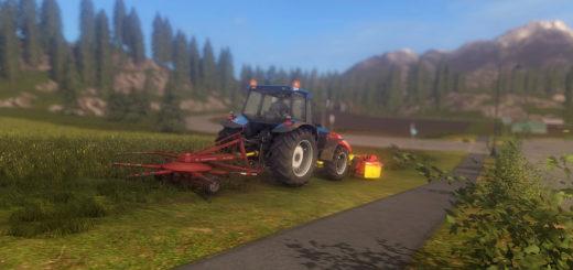 Мод валковая жатка POETTINGER 300 V1.0.0.0 Farming Simulator 2017