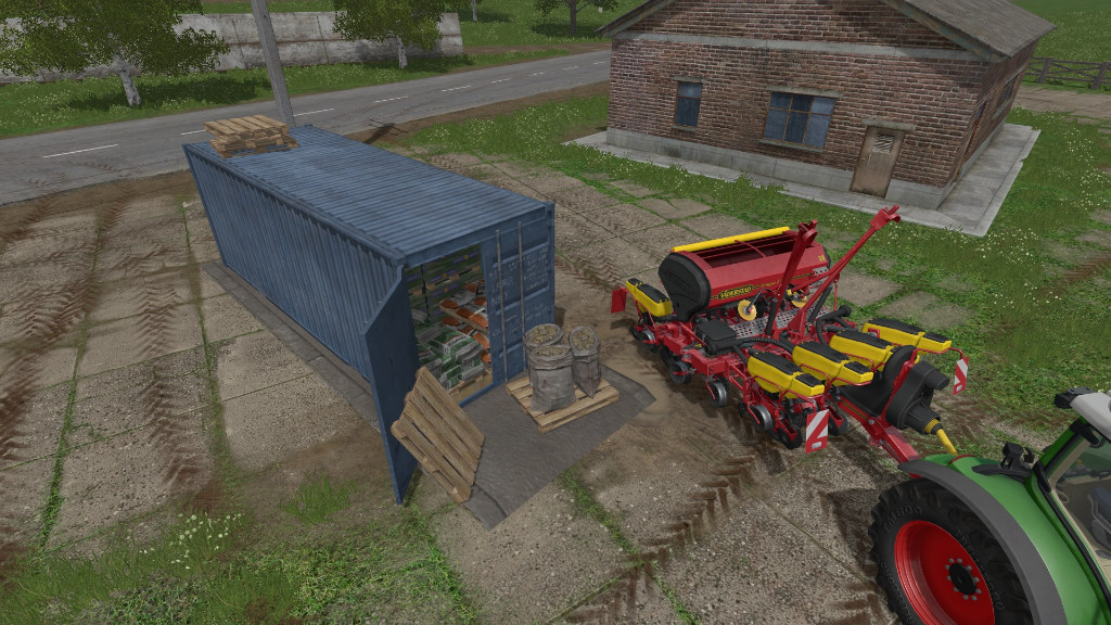 Мод Refill Seed Container v1.0 Farming Simulator 2017