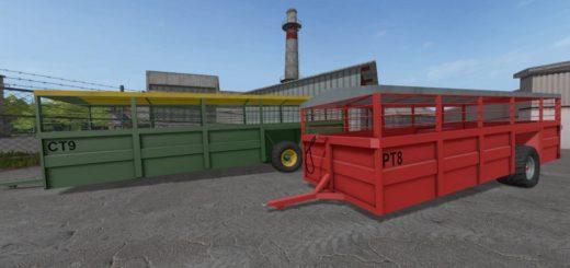 Мод прицеп RICHARD WESTERN LIVESTOCK TRANSPORTERS V1.0.1.0 Farming Simulator 17