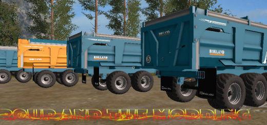 Мод прицепы RollandRollSpeed TFSG V 2.0 Farming Simulator 2017