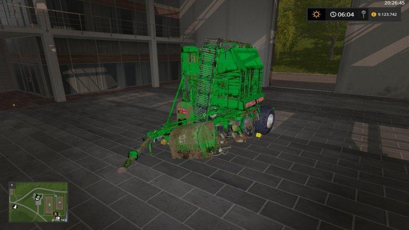 Мод комбайн Stoll V202 V1.0.0.0 Farming Simulator 2017
