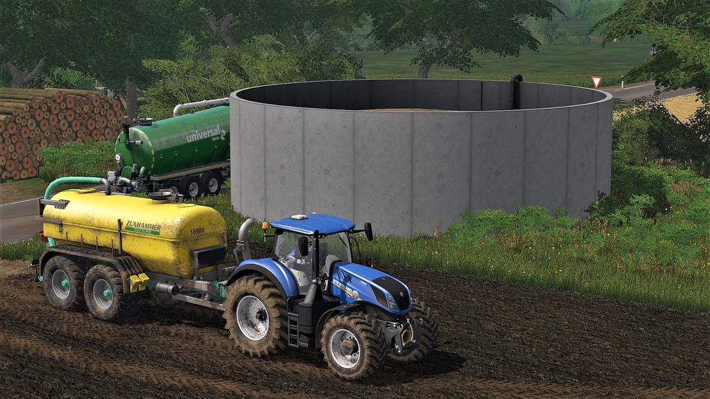 Мод ПАК SLURRYSTORAGE V1.3.0.0 Farming Simulator 17