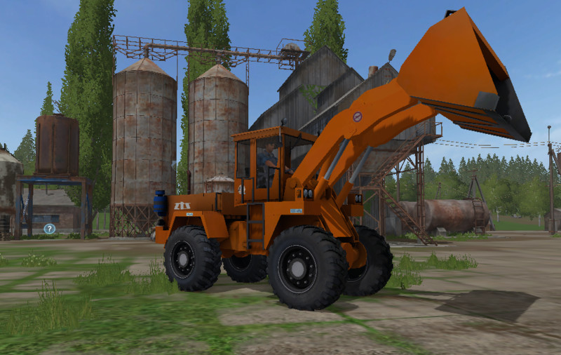 Мод погрузчик UNK 320 V1.0.0.0 Farming Simulator 2017