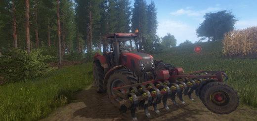 Мод культиватор VADERSTAD FRONT TILLER V1.0.0.0 Farming Simulator 17
