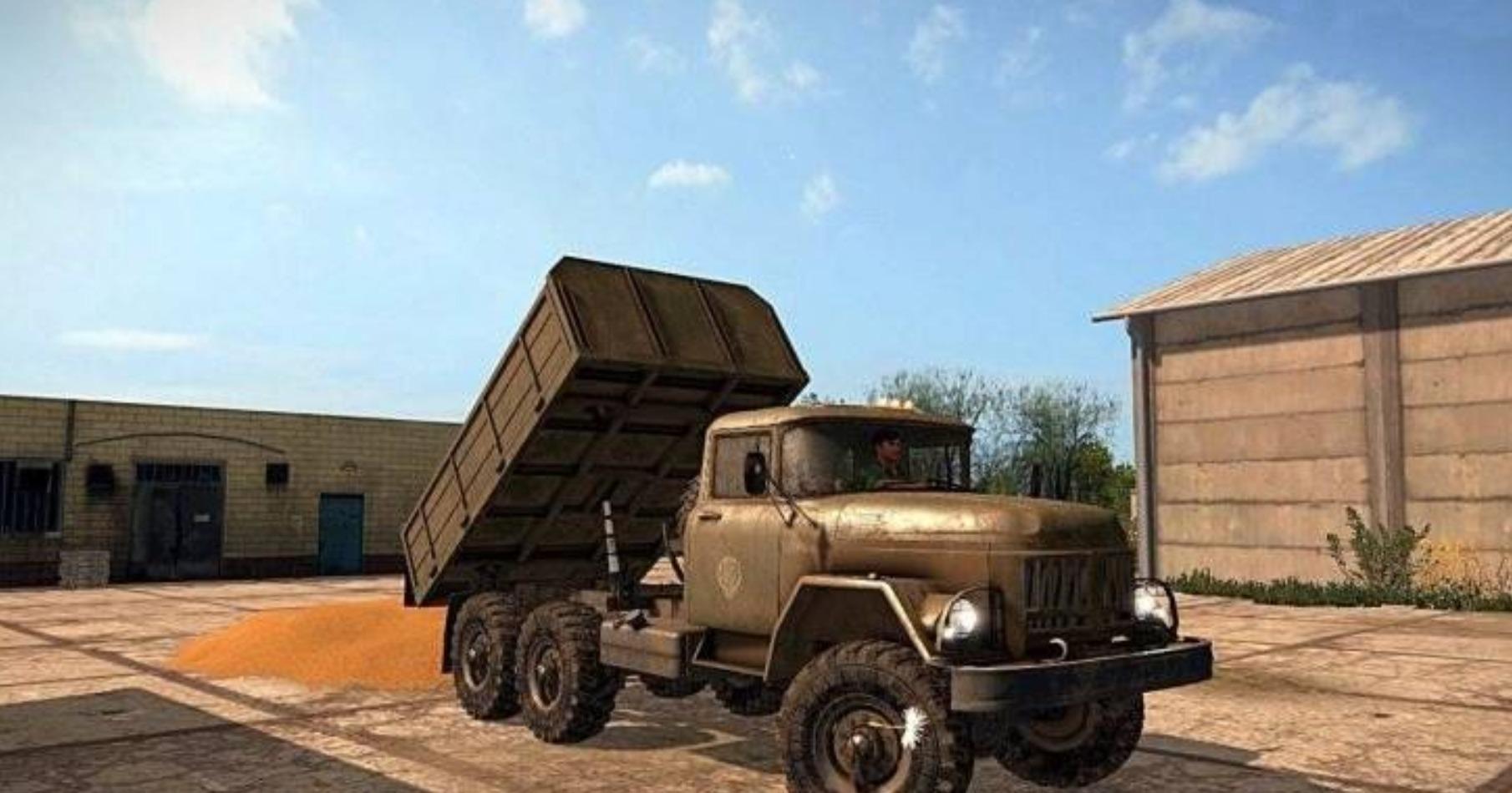 Мод грузовик ЗИЛ 131 v1.0 Фарминг Симулятор 2017