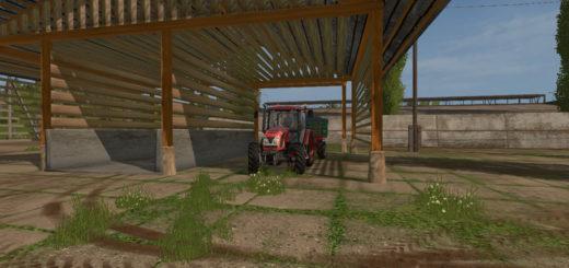 Мод навес Slovenian toplar v1.0 Farming Simulator 2017