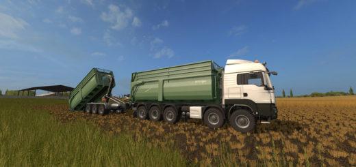 Мод модуль KRAMPE BIG BODY 700 CONTAINER V1.0 Farming Simulator 17