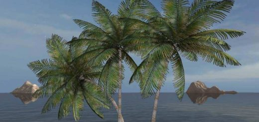 Мод Placeable Coconut Tree v1.0 Farming Simulator 17