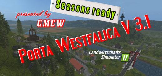 Мод карта Porta Westfalica 3.1 GMCW Farming Simulator 17