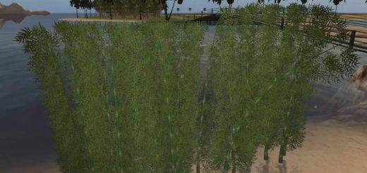 Мод Placeable Bamboo v1.0 FS17