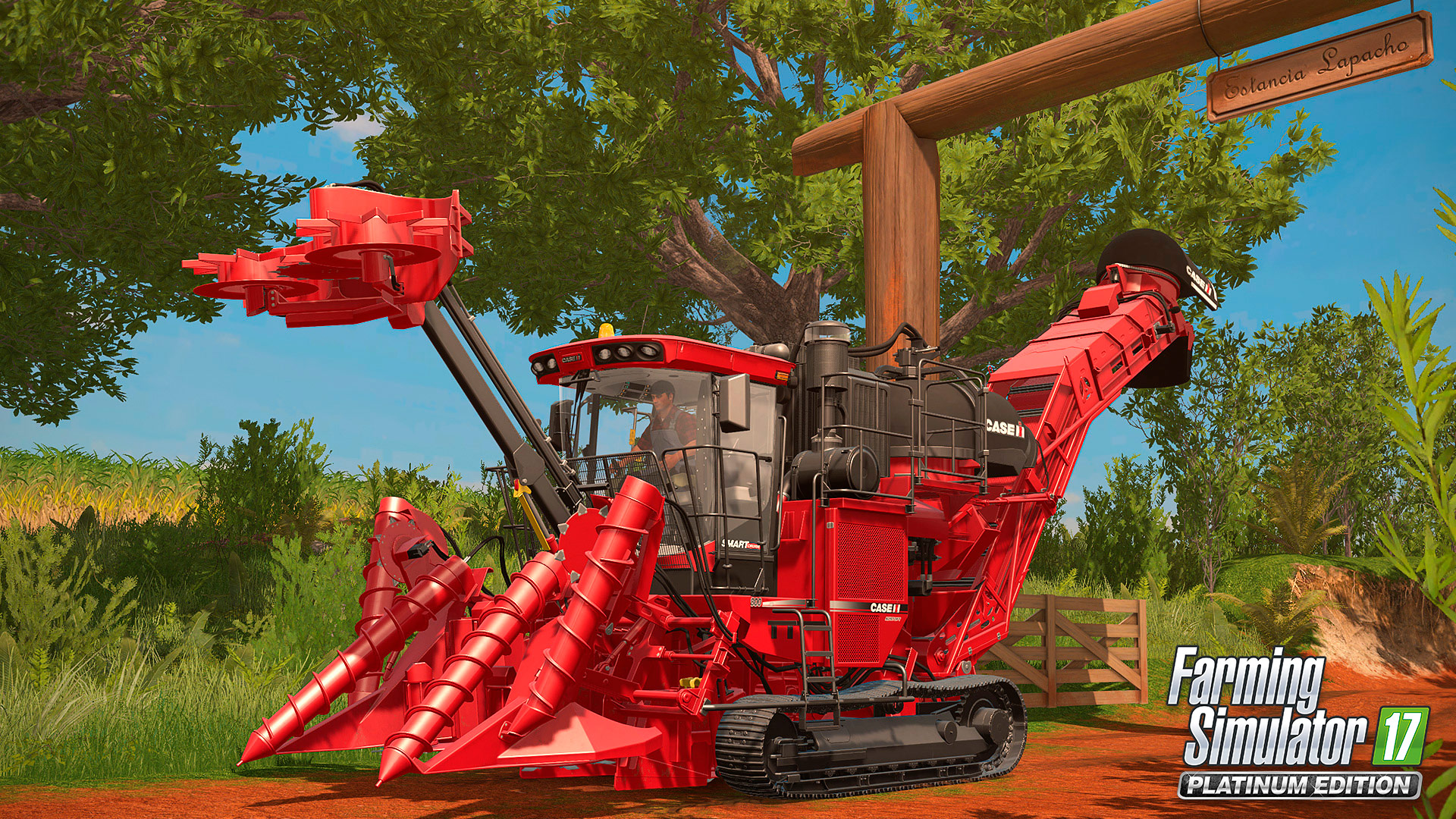 Розыгрыш лицензионной копии игры Farming Simulator 17 Platinum Edition