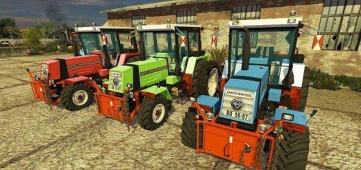 Мод трактор Fortschritt-ZT-323-A Farming Simulator 17