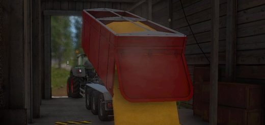 Мод модуль IT RUNNER CONTAINER v1.0 Farming Simulator 17