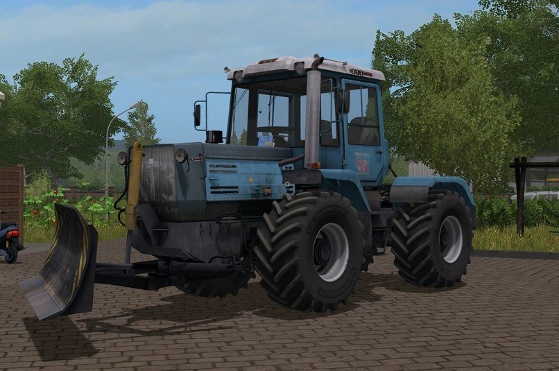 Мод трактор ХТЗ T-150 09 25 Фермер Симулятор 2017