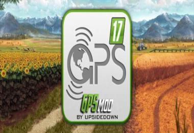 Мод FS17 GPS V5.2 RUS Farming Simulator 17