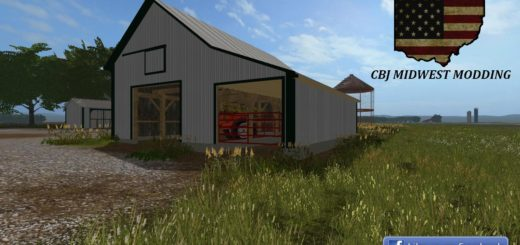 Мод OLD BUILDING V1.0 Farming Simulator 2017