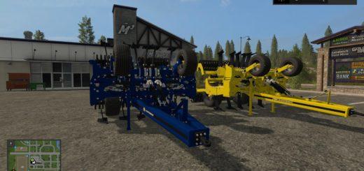 Мод культиватор AGRISEM CULTIPLOW PLATINUM 8M V1.0 Farming Simulator 2017