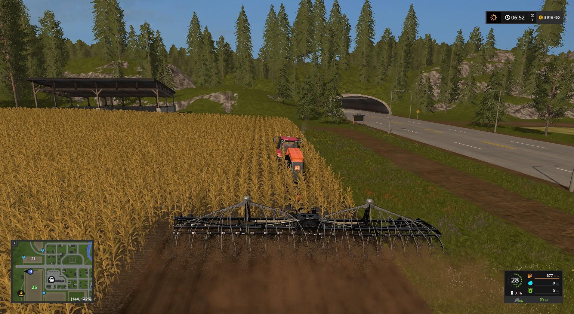 Мод сеялка AMAZONE CONDOR 15001 DIRECTSEED V2.0.0 Farming Simulator 17
