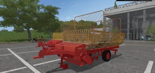 Мод прицеп BAUTZ AUTONOM LWL V1.0 Farming Simulator 2017