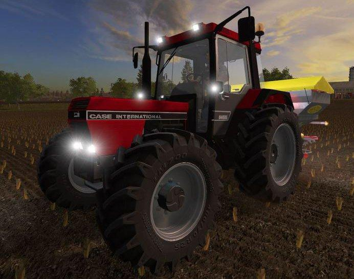 Мод трактор CASE IH 845 XL V1.0 Farming Simulator 2017