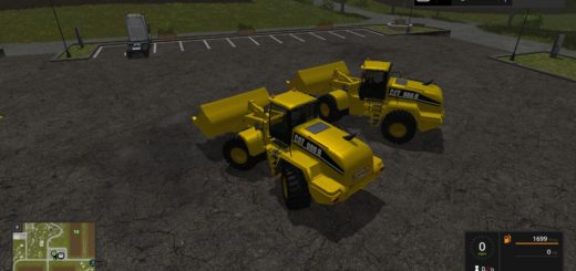 Мод погрузчик CATERPILLAR 980H V1.0 Farming Simulator 17