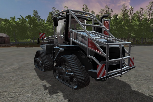 Мод трактор CASE IH QUADTRAC FOREST V1.0 Farming Simulator 17