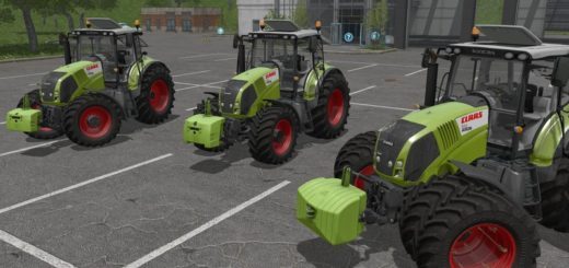 Мод трактор Claas Axion 800 v3.0 Farming Simulator 2017