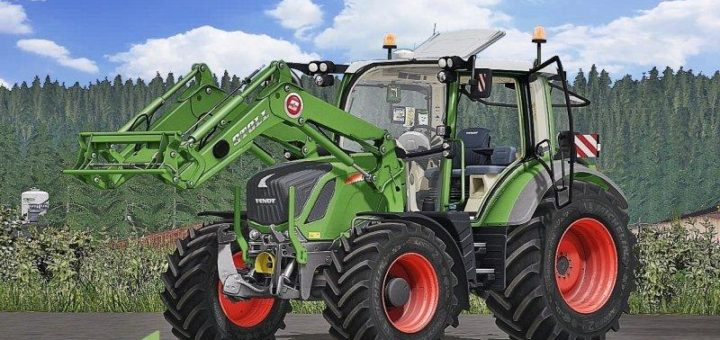 Мод ПАК трактора FENDT 300 VARIO FULL PACK V1.1 Farming Simulator 17
