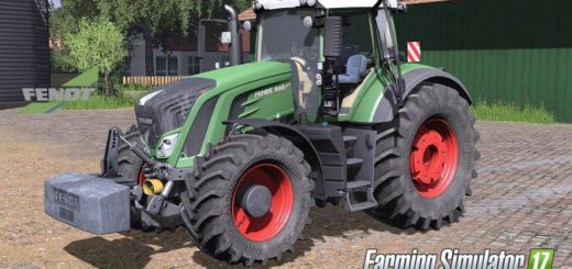 Мод трактор FENDT 900 VARIO FULL PACK Farming Simulator 17