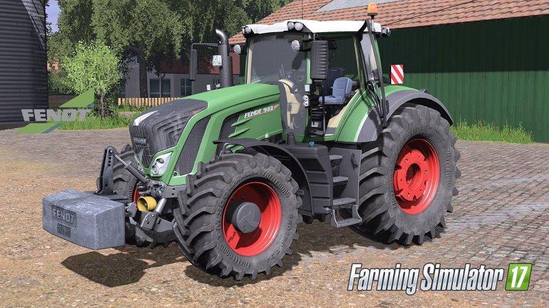 Мод трактор FENDT 900 VARIO FULL PACK Farming Simulator 17