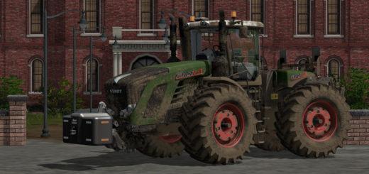 Мод трактор FENDT VARIO T V1.2 FS17