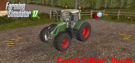 Мод трактор FENDT 700ER VARIO V1.0 Farming Simulator 17
