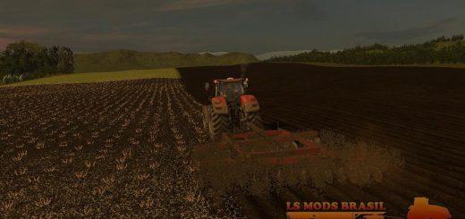 Мод культиватор GRADE SANTA IZABEL V1.0.1 Farming Simulator 17