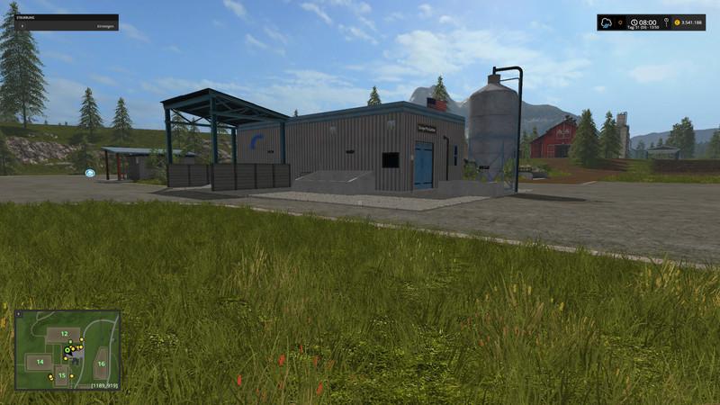 Мод HoT Seeds & Fertilizer Production v1.2 Final Fix RUS Farming Simulator 17