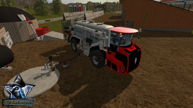 Мод HOLMER TERRA VARIANT 585 V1.0 Farming Simulator 17
